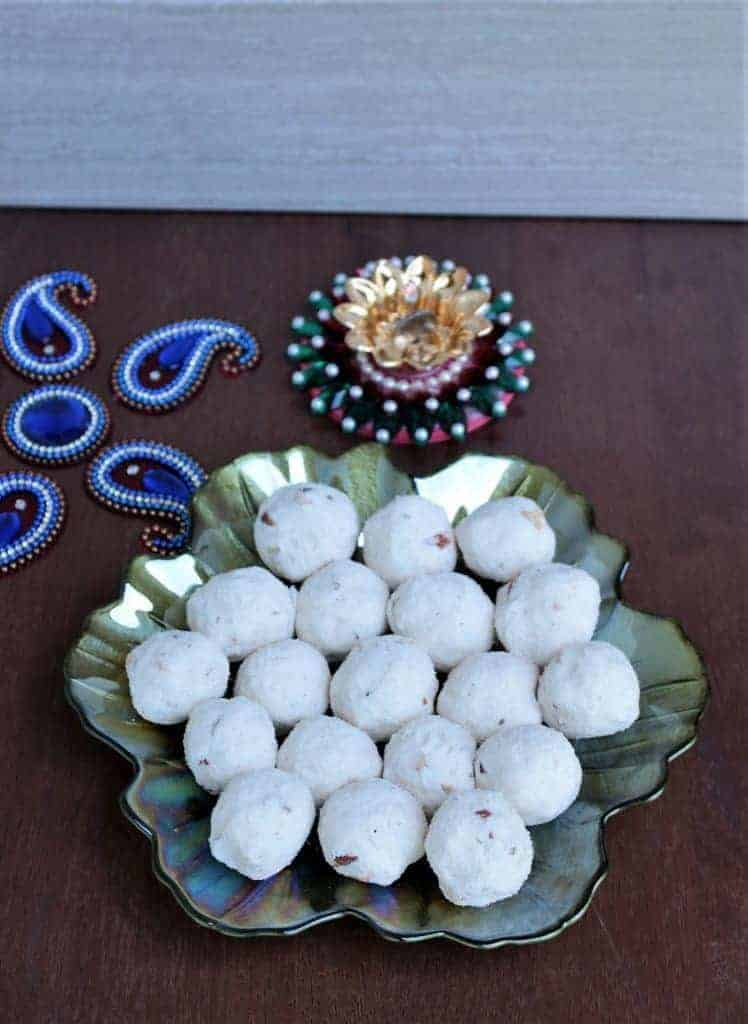 rava urundai for Diwali