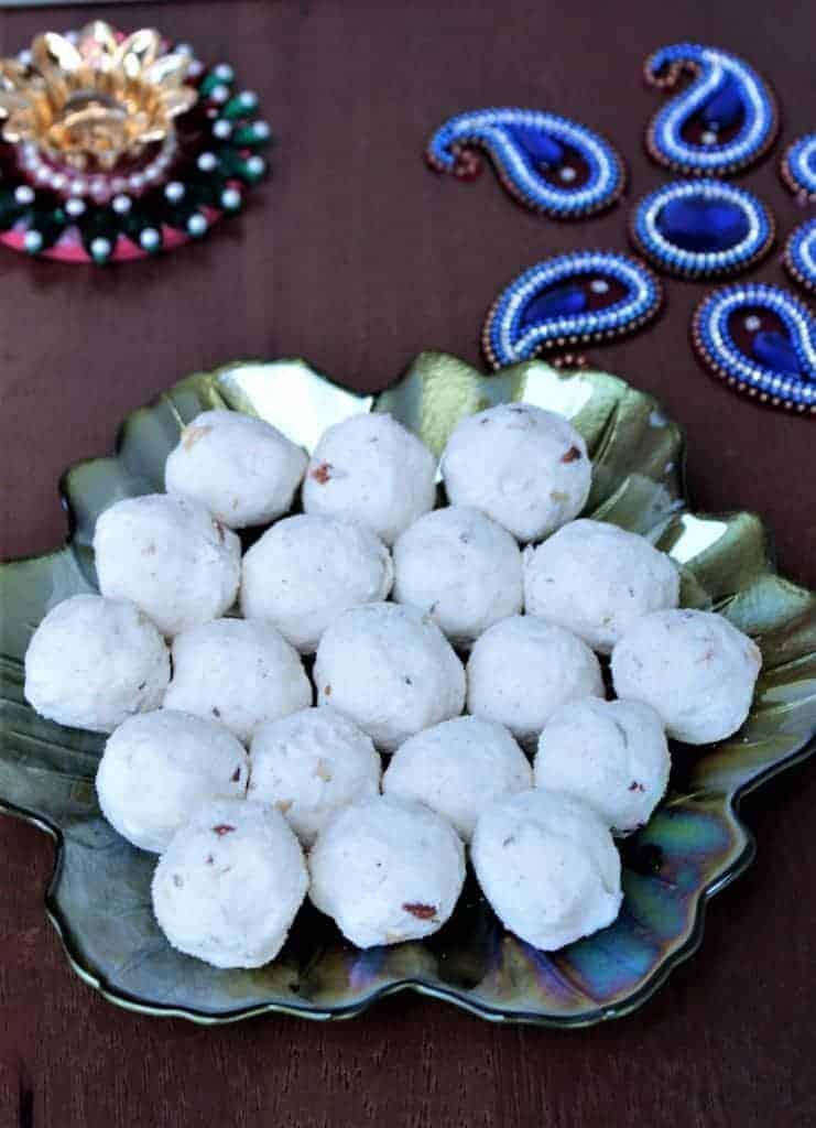 How to make Diwali special Rava Urundai