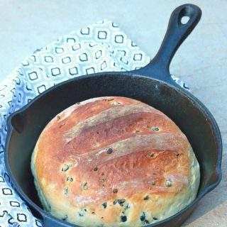 Moroccan Olive Bread - Vegan Olive Bread