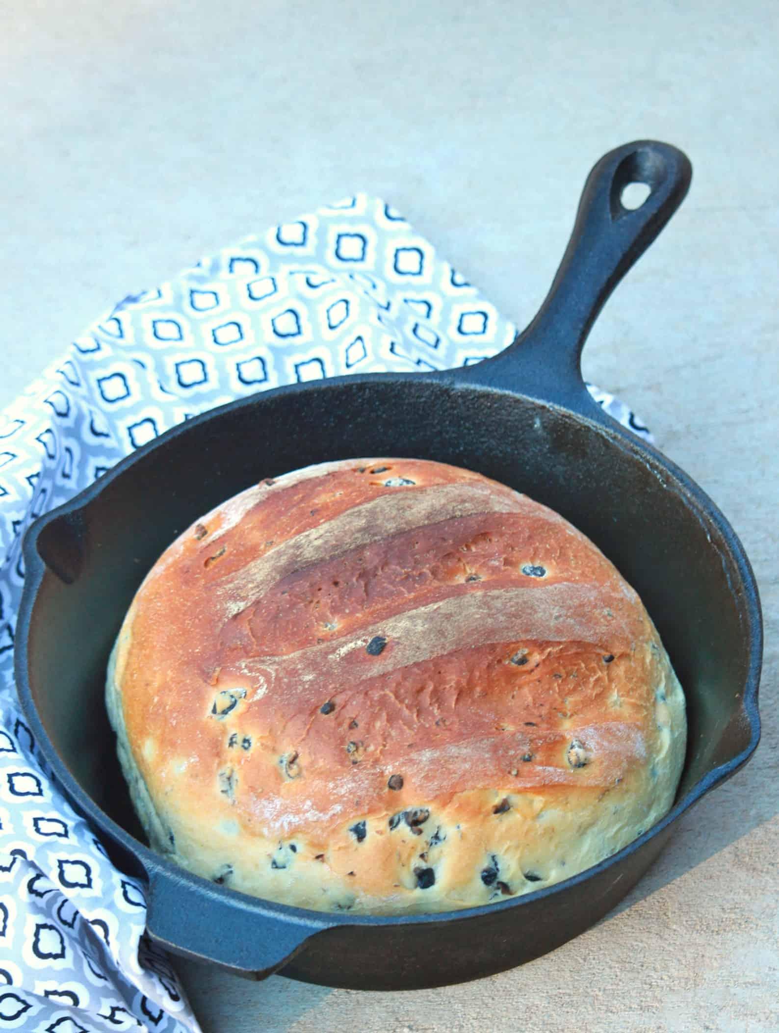 Moroccan Olive Bread – Vegan Olive Bread