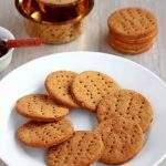 Jau Ki Papdi | Baked Barley Crackers