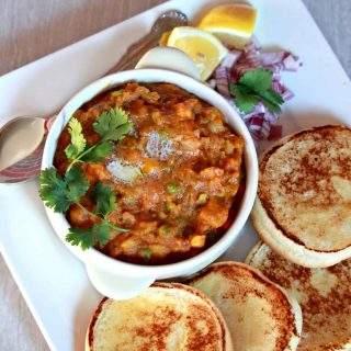 Pav Bhaji - Famous Indian Street Food