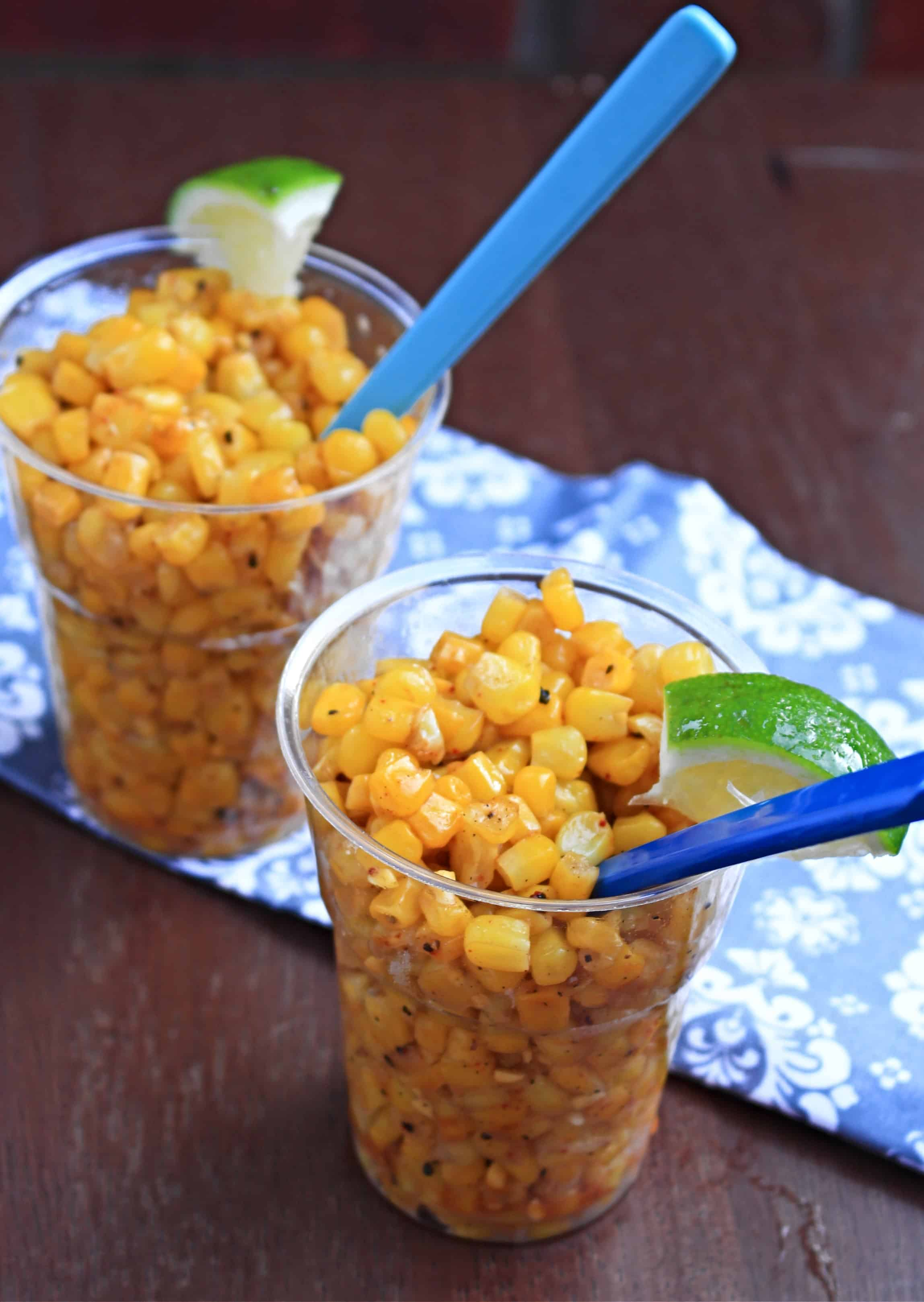Buttered Corn Salad