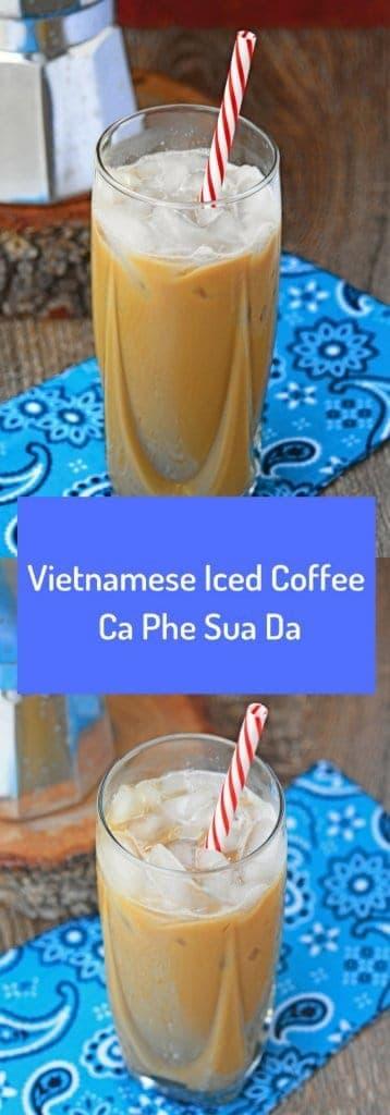 Vietnamese Iced Coffee   Ca Phe Sua Da