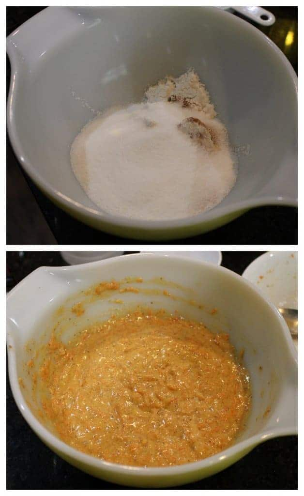 Single Serve Microwave Carrot Cake