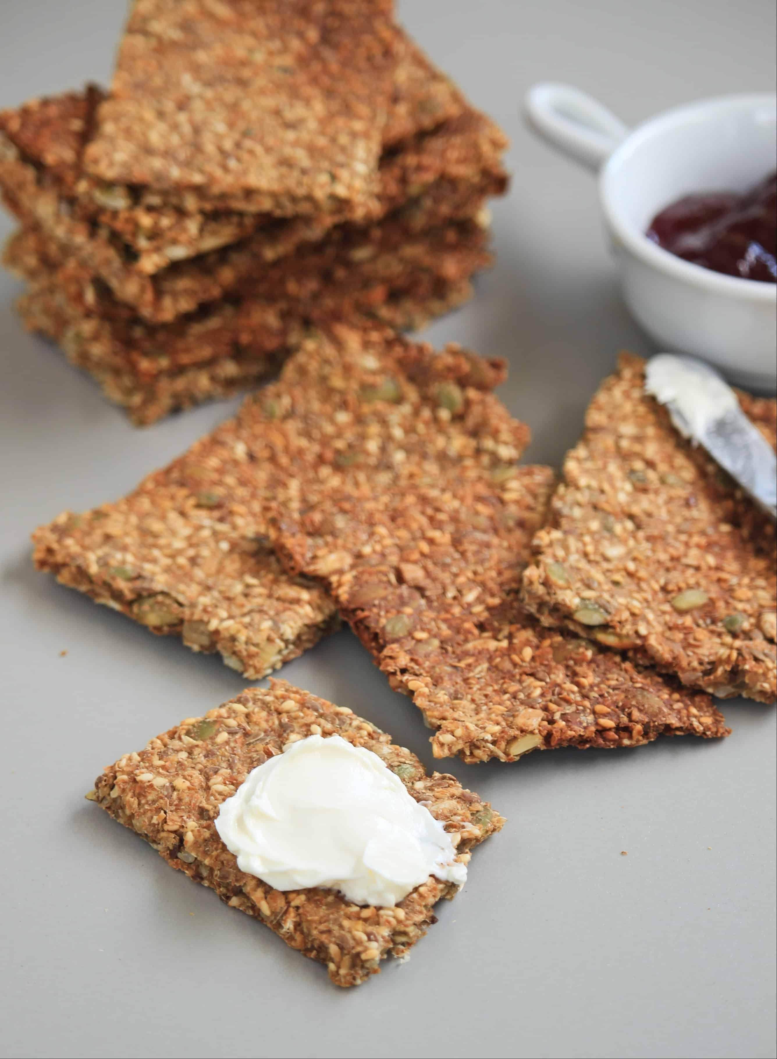 Norwegian Crisp Bread | Knekkebrød