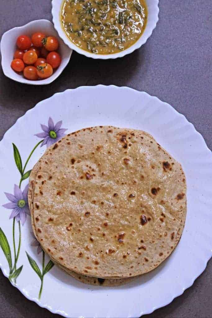 Whole Wheat Phulka | Pulka | Roti
