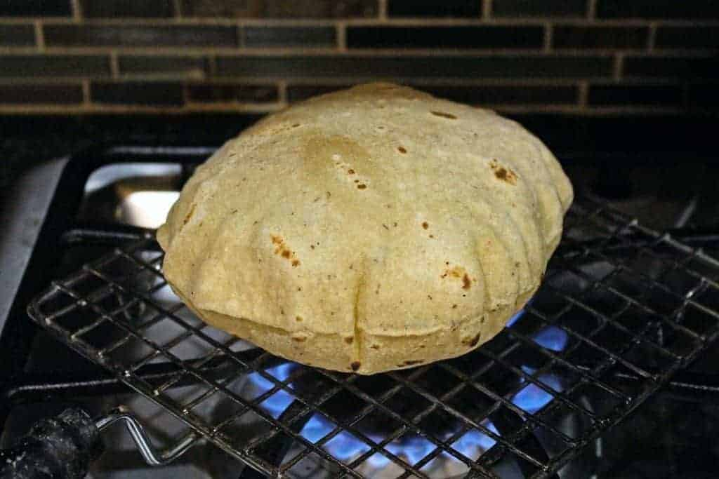 Whole Wheat Phulka   Pulka   Roti