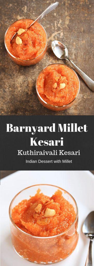 Barnyard Millet Kesari | Kuthiraivali Kesari