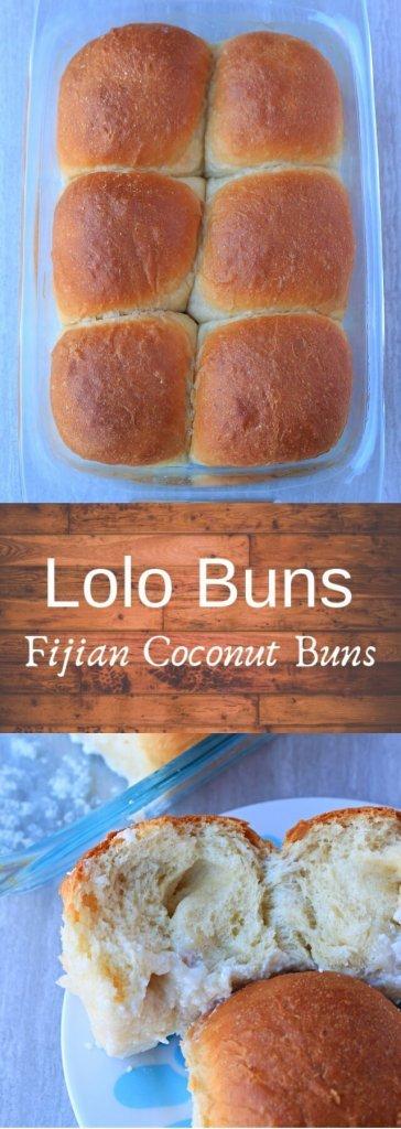 Lolo Buns | Fijian Coconut Buns