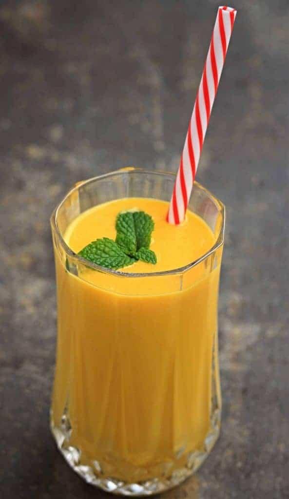 how to make 3 Ingredients Mango Lassi Recipe