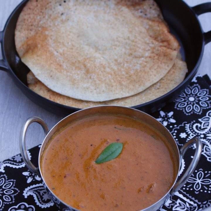 Kongu Thakkali Kuzhambu | Vegan Tomato Curry